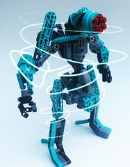 Sirch - Swirl (Protosteel) Tags: robot teal bionicle foitsop teeeaaal