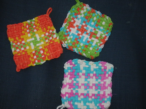 Jersey Loop potholders