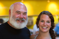 Dr. Weil and Daughter