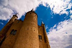 Alcazar de Segovia (chylle) Tags: travel castle architecture spain europe wideangle medieval segovia canoneos40d tokina1116mmf28