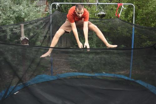 Ben jumping 1