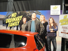 Comic-Con 2010 - No Ordinary Family booth