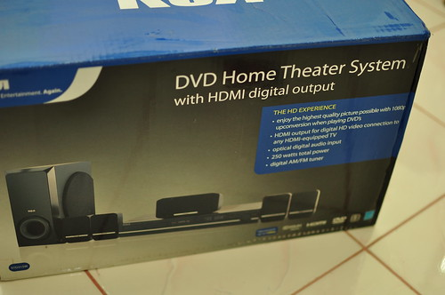 RCA HTS with HDMI digital output