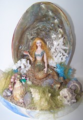 Mermaid by Joyce, http://picasaweb.google.com/hpdolls - she plans to give it to her grandaughter.
