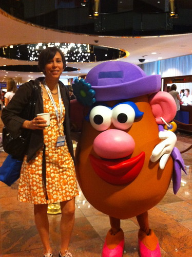 With Mrs Potato Head