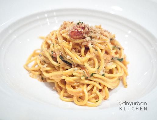 Marea sea urchin spaghetti