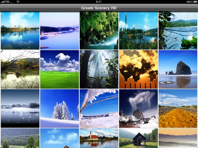 Great Scenery HD - iPad