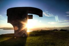 Elogio del Horizonte 2 (Praise of the Horizon 2) (Dibus y Deabus) Tags: españa canon eos dawn spain gijón asturias amanecer 7d gijon hdr elogiodelhorizonte praiseofthehorizon
