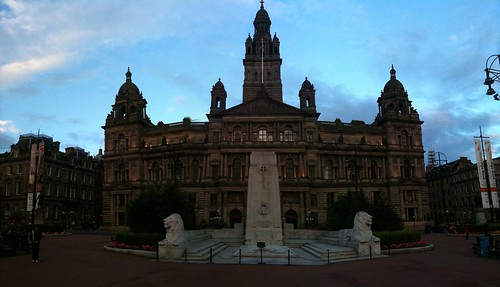 George Square Pano, Glasgow