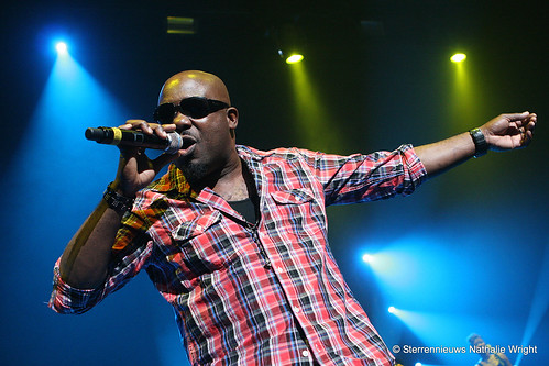 Tony Gold live in concert at Shaggy's show at the Kursaal Oostende in Ostende Belgique Belgium Belgie live photo