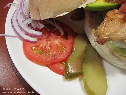 第八街美式漢堡生菜