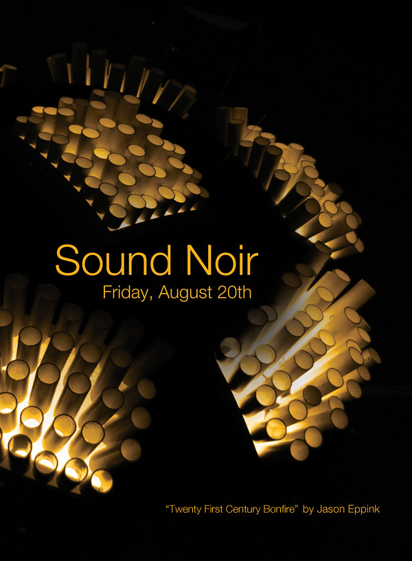 Sound Noir Flyer - August 20th
