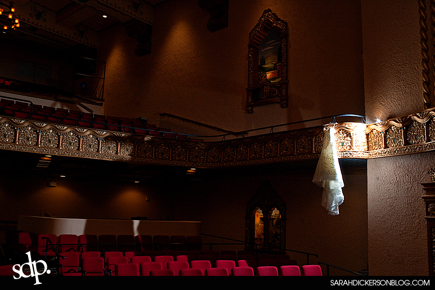 Emporia, Kansas Granada Theater wedding photograpers