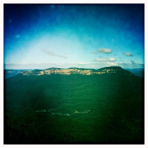 Mt Solitary & Mt Jellore