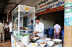 Restaurant Mekong, Neak Loeung, Cambodia