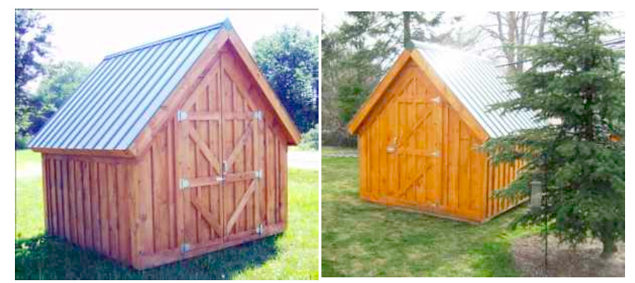 Amish Shed Research: Option 1: Pre-Assembled, But Smaller
