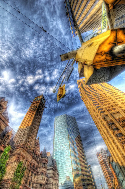 Toronto Skywards (HDR)