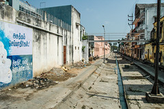 Puducherry, India. (Marie-Laure Even) Tags: street city summer india asia district indian south january backstreet asie rue 2008 janvier commonwealth indien tamil ville tamilnadu sud inde pondicherry southindia nadu eté pondichéry puducherry commonwealthofnations marielaureeven