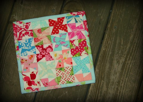 Mini Pinwheel Potholder