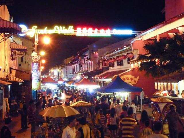 Jonker Night Market, Melaka, Malaysia