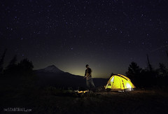 Get out of Town (Ben Canales) Tags: camping camp man night oregon stars outdoors fire person twilight hiking tent hike backpacking mthood backpack hiker starry Astrometrydotnet:status=failed bencanales wwwthestartrailcom Astrometrydotnet:id=alpha20100844771507