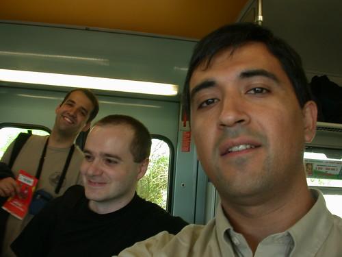 En tren desde el aeropuerto a Stuttgart