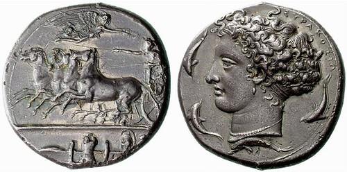 harness dickey & pierce. Lloyd Harness|A Greek Silver Decadrachm of Syracuse (Sicily),