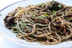 Spaguetti al Nero de Sepia