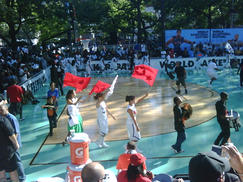 performance at rucker park