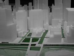 NEW YORK - MoMA : Progetto di una metropoli eco sostenibile (foto_quindi_sono) Tags: usa newyork green skyline america moma museumofmodernart plastico eco bigapple statiuniti grattacieli skycreeper