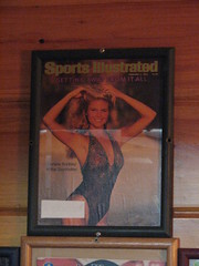 Sports Illustrated Swimsuit Issue 1979 (FranMoff) Tags: restaurant framed supermodel si sportsillustrated swimsuit 1979 swimsuitissue christiebrinkley