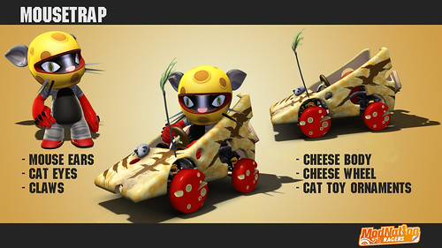 ModNation Racers for PS3 -- MouseTrap