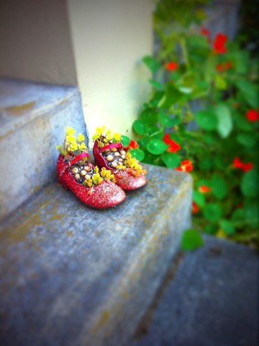 shoes on my front steps
