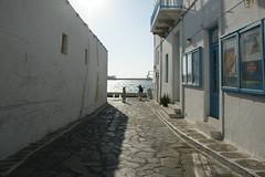 Mykonos town ミコノス・タウン 細い路地で構成される港町