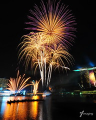 Youth Olympic Games 2010 Opening Ceremony - Fireworks 2 (j-imaging) Tags: game youth marina river bay singapore ceremony firework opening olympic yog 2010 pyrotechnic 100commentgroup