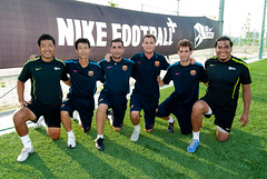 FCバルセロナ ナイキ コーチング セッション  堺トレセン  - 09