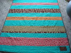 Nick Katie quilt back