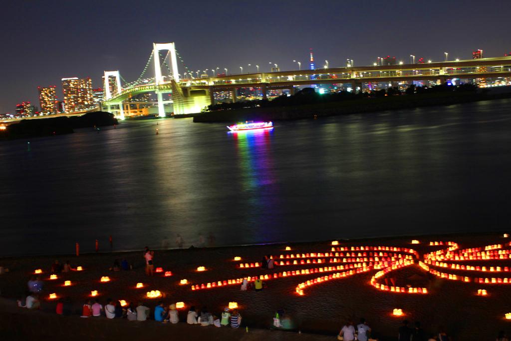 Paper Lantern Festival in Odaiba 2010 (5)
