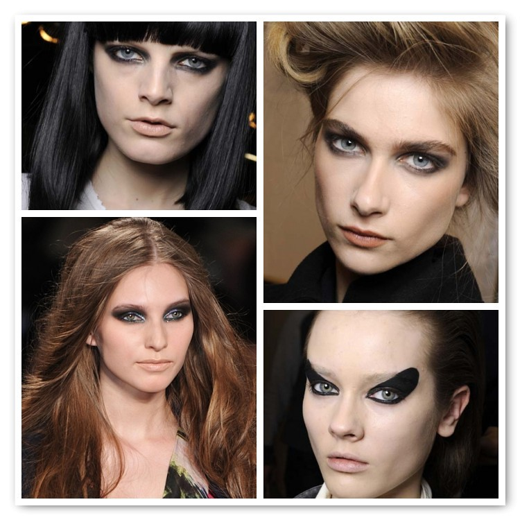 Make up trends Fall 2010 Smoky again!