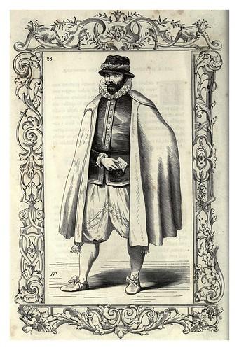 003-Mercaderes romanos vestimenta del XVI y XVII-Habiti antichi et moderni di tutto il mundo- Cesare Vecellio