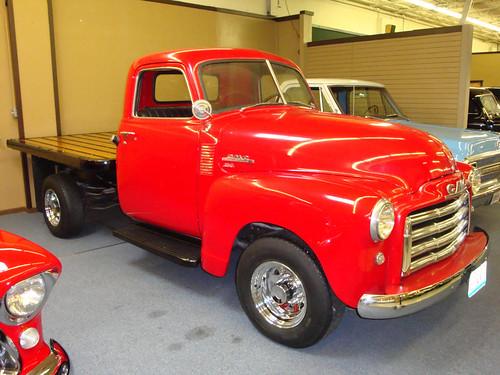 GMC Flatbed Truck in Branson Auto Museum