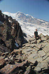 Marc at St. Elmo Pass, Mount Rainier National Park, WA