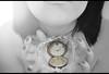 Detén el tiempo en tus manos... (Lunayda) Tags: old black color clock water girl vintage hands time watch bn sensual nails stop short soul reloj hours conceptual sensuality tiempo flickraward lunayda