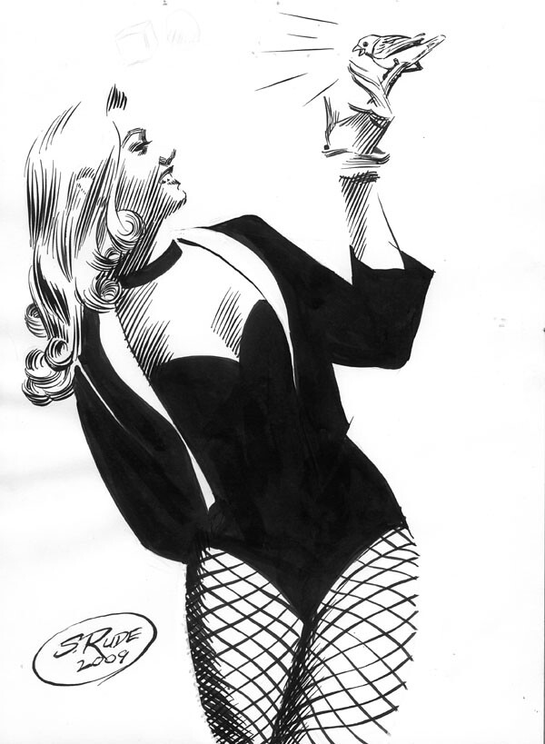 Black Canary by Steve Rude