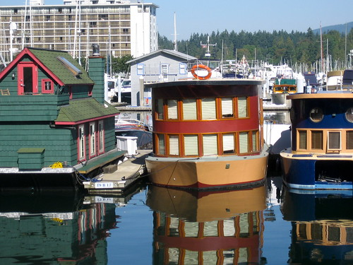 Vancouver: house boats