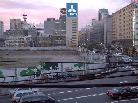 大改修工事前の大阪駅