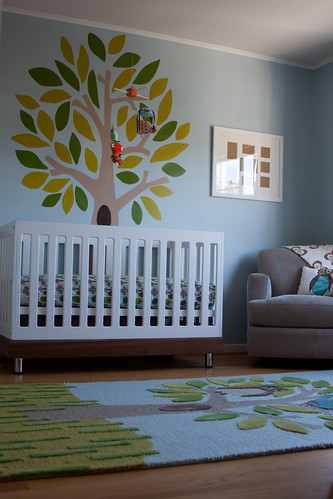 nursery highlight dwellstudio tree rug