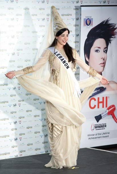 National Costume of Miss Lebanon