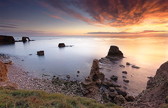 A NICE START (Steve Boote..) Tags: sea seascape sunrise dawn coast arches northumbria northsea coastline pillars nationaltrust gitzo stacks marsden whitburn tyneandwear southtyneside northeastengland sigma1020 leefilters samsunggx20 steveboote