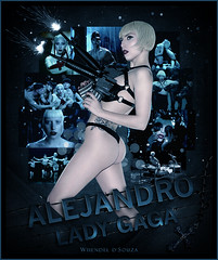 Alejandro [Lady Gaga] - Whendel d'Souza (W h e n d e l l) Tags: 2 monster lady fame alejandro gaga blend the edio